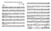 Click for printable score for Salute to the Great Pipe