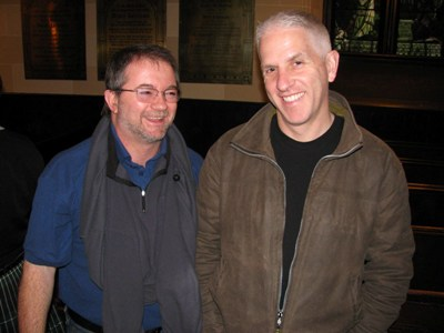 Bruce Gandy and Andrew Berthoff, editor, PD Online