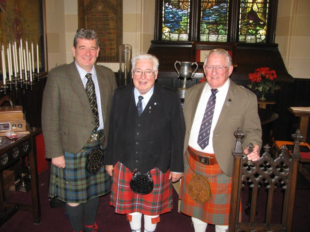 Colin MacLellan, Reay MacKay, Sandy Jones